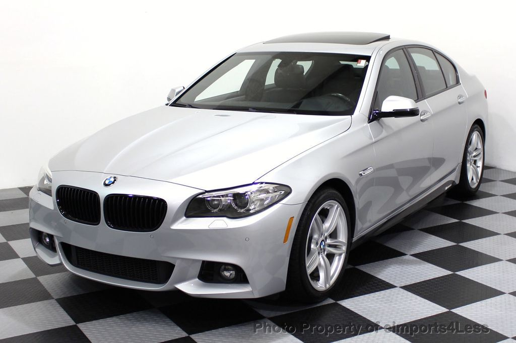 2014 BMW 5 Series CERTIFIED 535i M Sport Package CAMERA / HUD / NAVI - 16006726 - 28