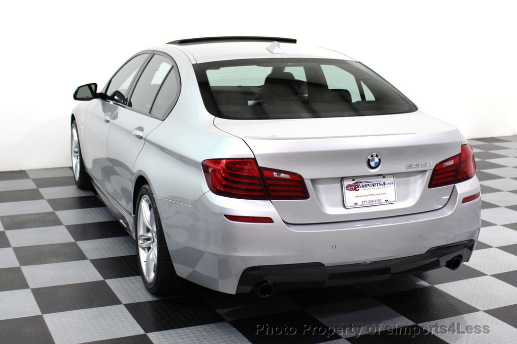 2014 BMW 5 Series CERTIFIED 535i M Sport Package CAMERA / HUD / NAVI - 16006726 - 30
