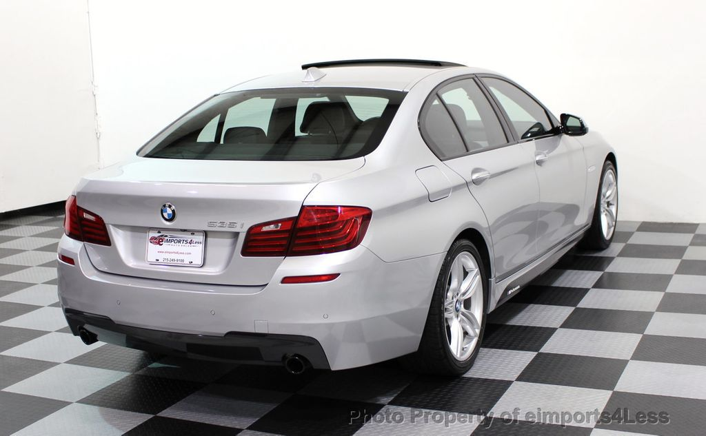 2014 Used Bmw 5 Series Certified 535i M Sport Package Camera Hud Navi At Eimports4less