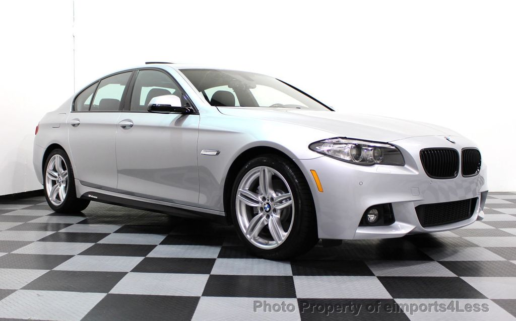 2014 BMW 5 Series CERTIFIED 535i M Sport Package CAMERA / HUD / NAVI - 16006726 - 40