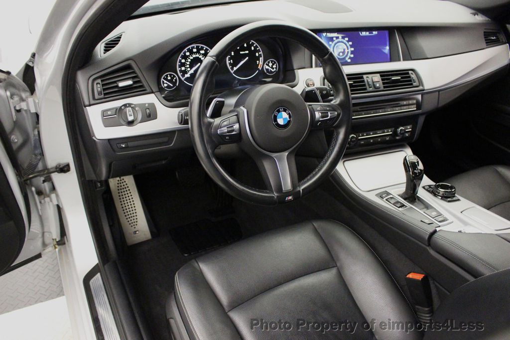 2014 BMW 5 Series CERTIFIED 535i M Sport Package CAMERA / HUD / NAVI - 16006726 - 45