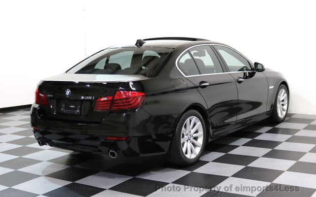 2014 BMW 5 Series CERTIFIED 535i xDRIVE AWD DRIVER ASSIST NAVIGATION - 16087923 - 17