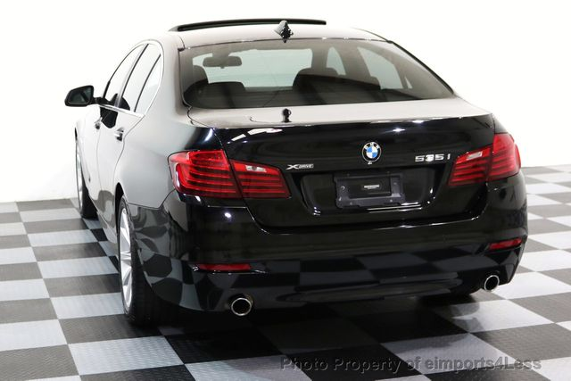 2014 BMW 5 Series CERTIFIED 535i xDRIVE AWD DRIVER ASSIST NAVIGATION - 16087923 - 28