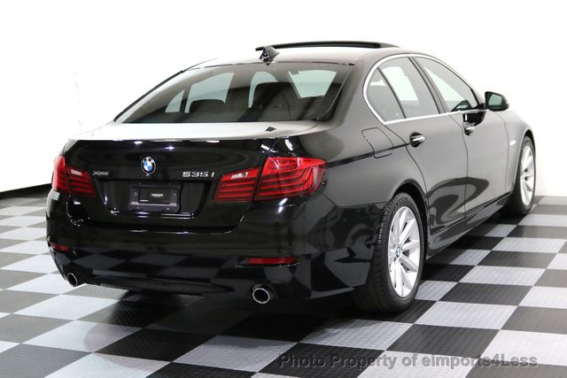2014 BMW 5 Series CERTIFIED 535i xDRIVE AWD DRIVER ASSIST NAVIGATION - 16087923 - 3