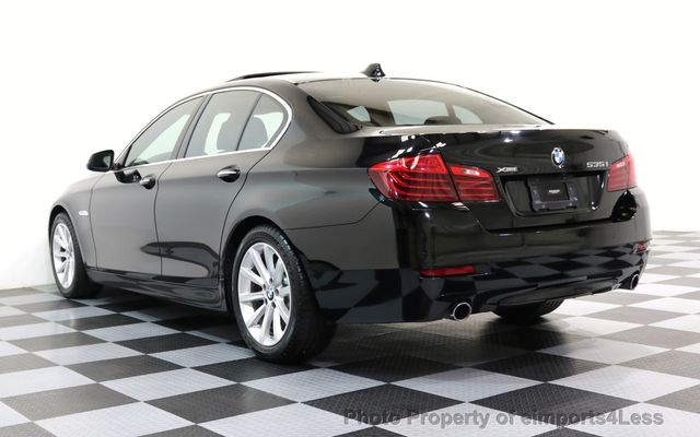 2014 BMW 5 Series CERTIFIED 535i xDRIVE AWD DRIVER ASSIST NAVIGATION - 16087923 - 40