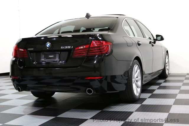 2014 BMW 5 Series CERTIFIED 535i xDRIVE AWD DRIVER ASSIST NAVIGATION - 16087923 - 41
