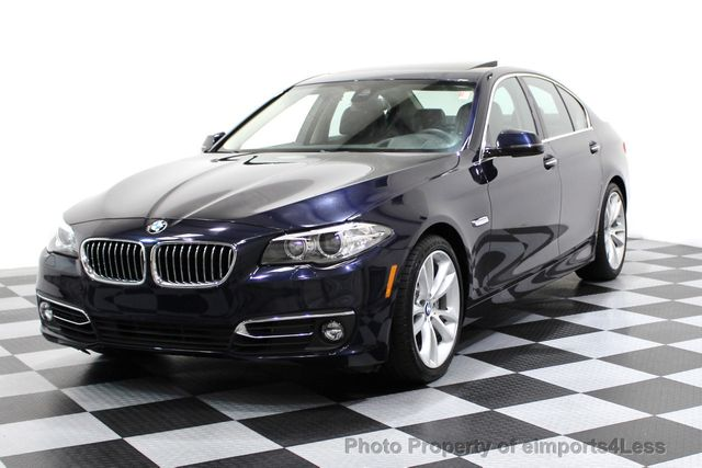 2014 BMW 5 Series CERTIFIED 535i xDRIVE Luxury Line AWD A/C SEATS NAVI - 16677039 - 0