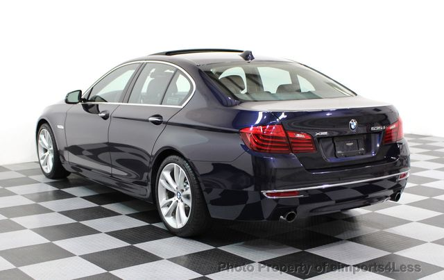 2014 BMW 5 Series CERTIFIED 535i xDRIVE Luxury Line AWD A/C SEATS NAVI - 16677039 - 15