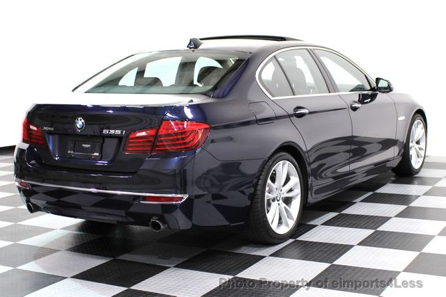 2014 BMW 5 Series CERTIFIED 535i xDRIVE Luxury Line AWD A/C SEATS NAVI - 16677039 - 17