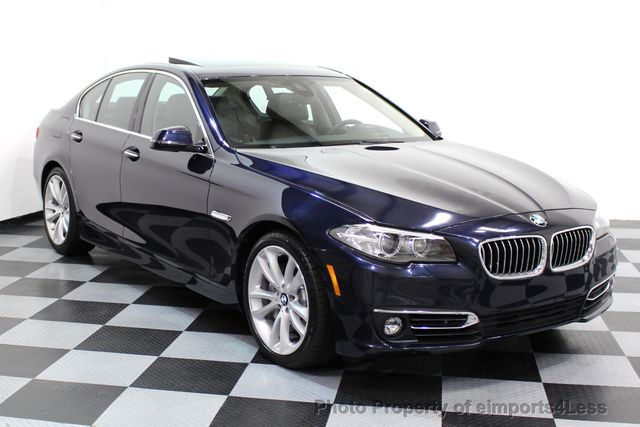 2014 BMW 5 Series CERTIFIED 535i xDRIVE Luxury Line AWD A/C SEATS NAVI - 16677039 - 1