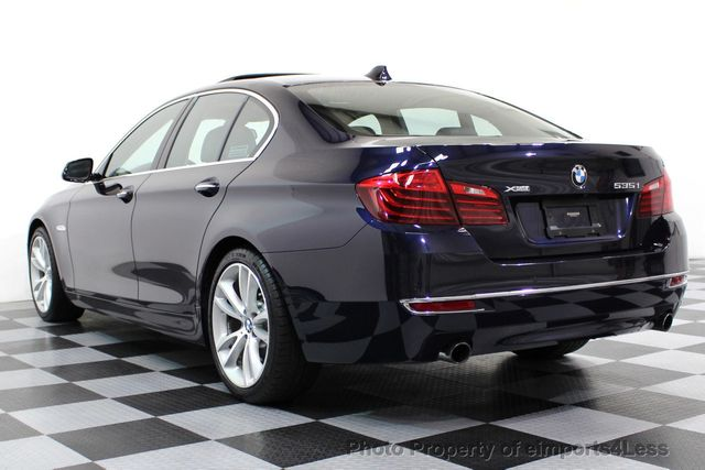 2014 BMW 5 Series CERTIFIED 535i xDRIVE Luxury Line AWD A/C SEATS NAVI - 16677039 - 28