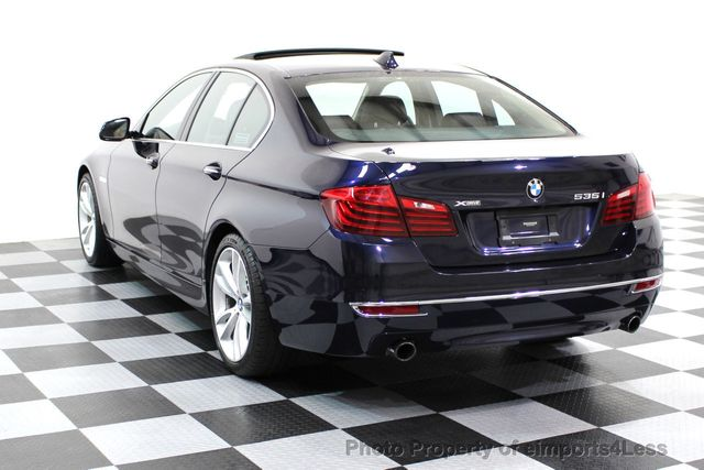 2014 BMW 5 Series CERTIFIED 535i xDRIVE Luxury Line AWD A/C SEATS NAVI - 16677039 - 2