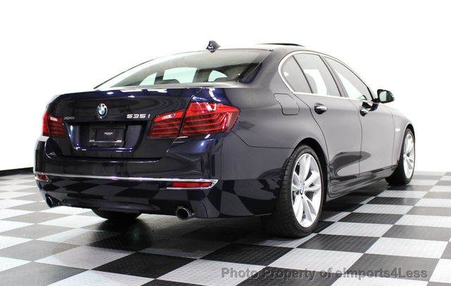 2014 BMW 5 Series CERTIFIED 535i xDRIVE Luxury Line AWD A/C SEATS NAVI - 16677039 - 30