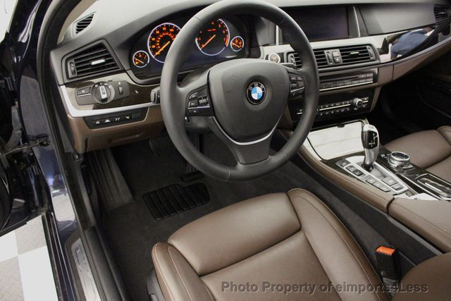 2014 BMW 5 Series CERTIFIED 535i xDRIVE Luxury Line AWD A/C SEATS NAVI - 16677039 - 34