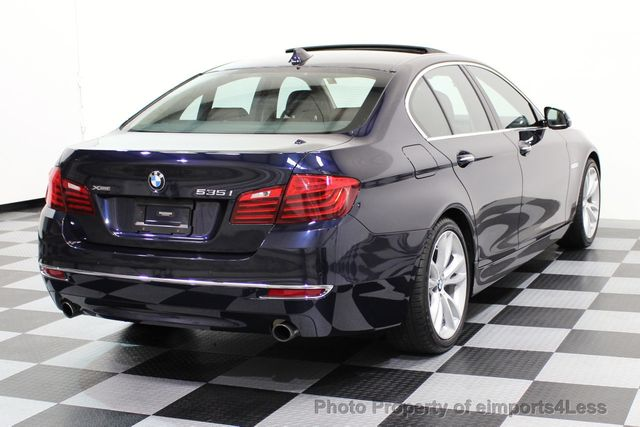 2014 BMW 5 Series CERTIFIED 535i xDRIVE Luxury Line AWD A/C SEATS NAVI - 16677039 - 3