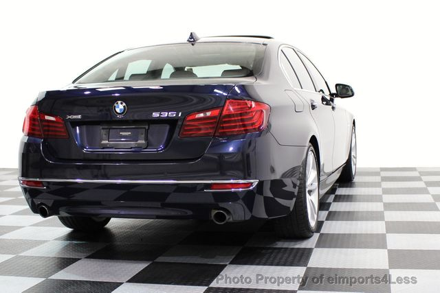 2014 BMW 5 Series CERTIFIED 535i xDRIVE Luxury Line AWD A/C SEATS NAVI - 16677039 - 41