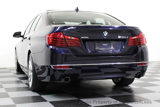 2014 BMW 5 Series CERTIFIED 535i xDRIVE Luxury Line AWD A/C SEATS NAVI - 16677039 - 42