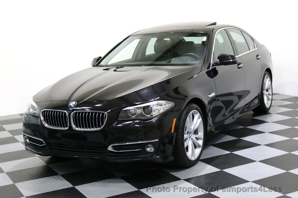 2014 BMW 5 Series CERTIFIED 535i xDRIVE LUXURY LINE AWD CAMERA / NAV - 16437528 - 0
