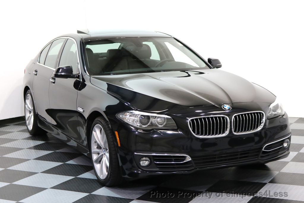 2014 BMW 5 Series CERTIFIED 535i xDRIVE LUXURY LINE AWD CAMERA / NAV - 16437528 - 1