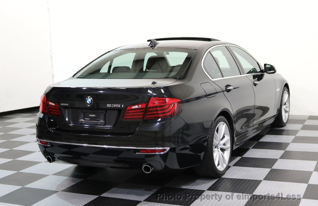2014 BMW 5 Series CERTIFIED 535i xDRIVE LUXURY LINE AWD CAMERA / NAV - 16437528 - 3