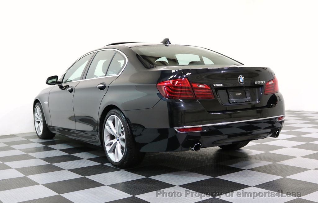 2014 BMW 5 Series CERTIFIED 535i xDRIVE LUXURY LINE AWD CAMERA / NAV - 16437528 - 43