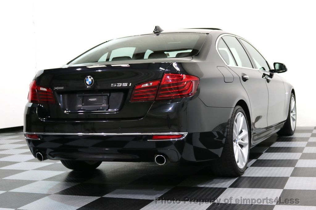 2014 BMW 5 Series CERTIFIED 535i xDRIVE LUXURY LINE AWD CAMERA / NAV - 16437528 - 47