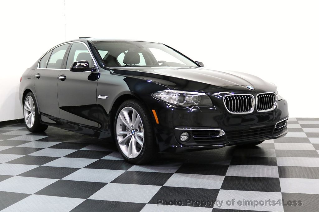 2014 BMW 5 Series CERTIFIED 535i xDRIVE LUXURY LINE AWD CAMERA / NAV - 16437528 - 48