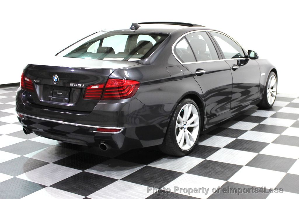 2014 BMW 5 Series CERTIFIED 535i xDRIVE Luxury Line AWD NAVIGATION - 16167103 - 21