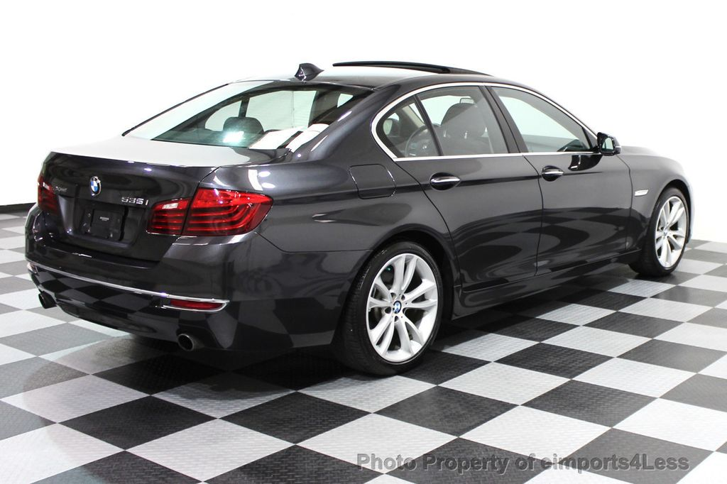 2014 BMW 5 Series CERTIFIED 535i xDRIVE Luxury Line AWD NAVIGATION - 16167103 - 22