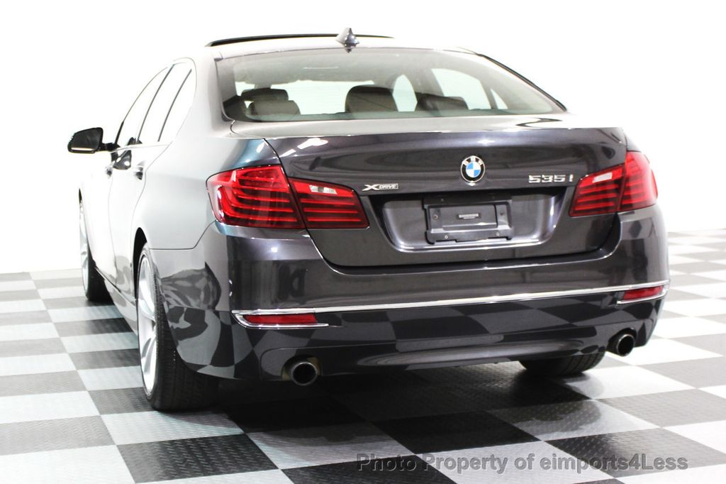 2014 BMW 5 Series CERTIFIED 535i xDRIVE Luxury Line AWD NAVIGATION - 16167103 - 29