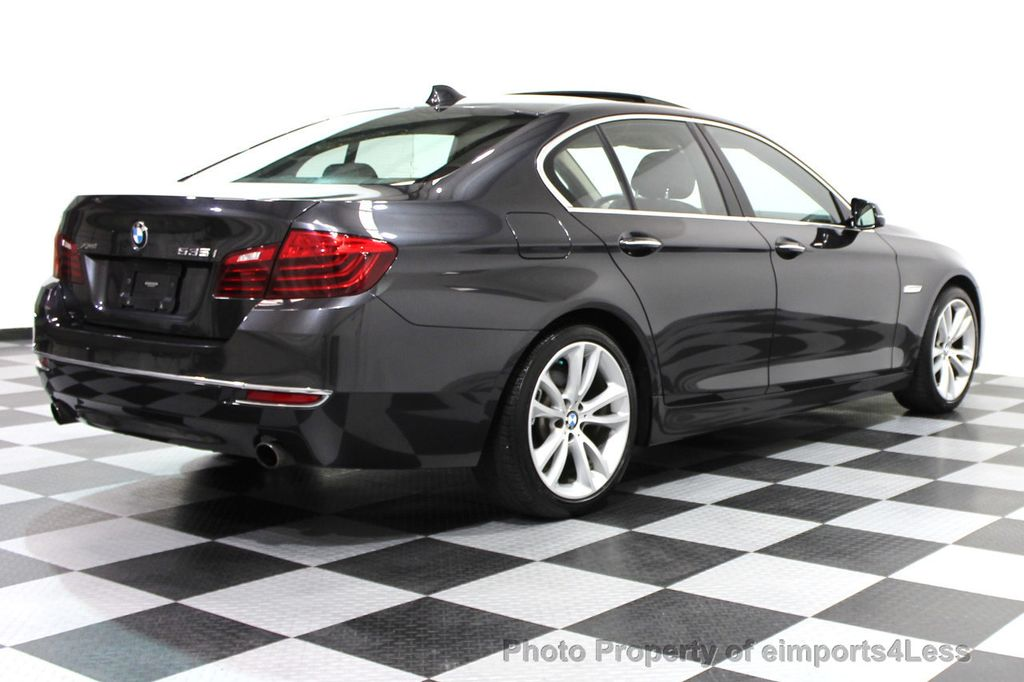 2014 BMW 5 Series CERTIFIED 535i xDRIVE Luxury Line AWD NAVIGATION - 16167103 - 31