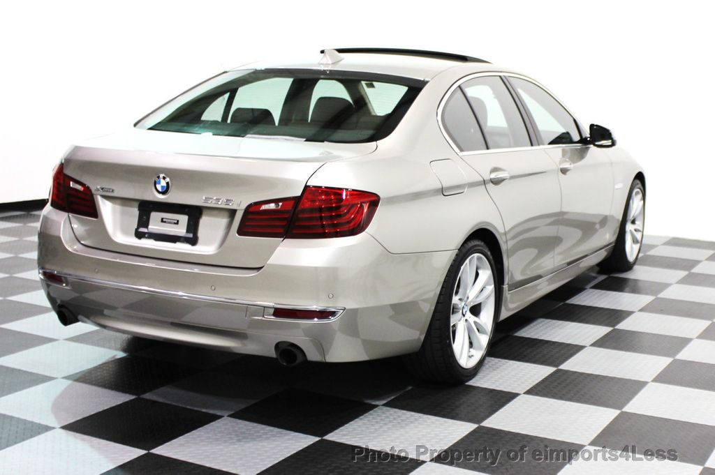 2014 BMW 5 Series CERTIFIED 535i xDRIVE LUXURY LINE AWD SEDAN - 16044046 - 20
