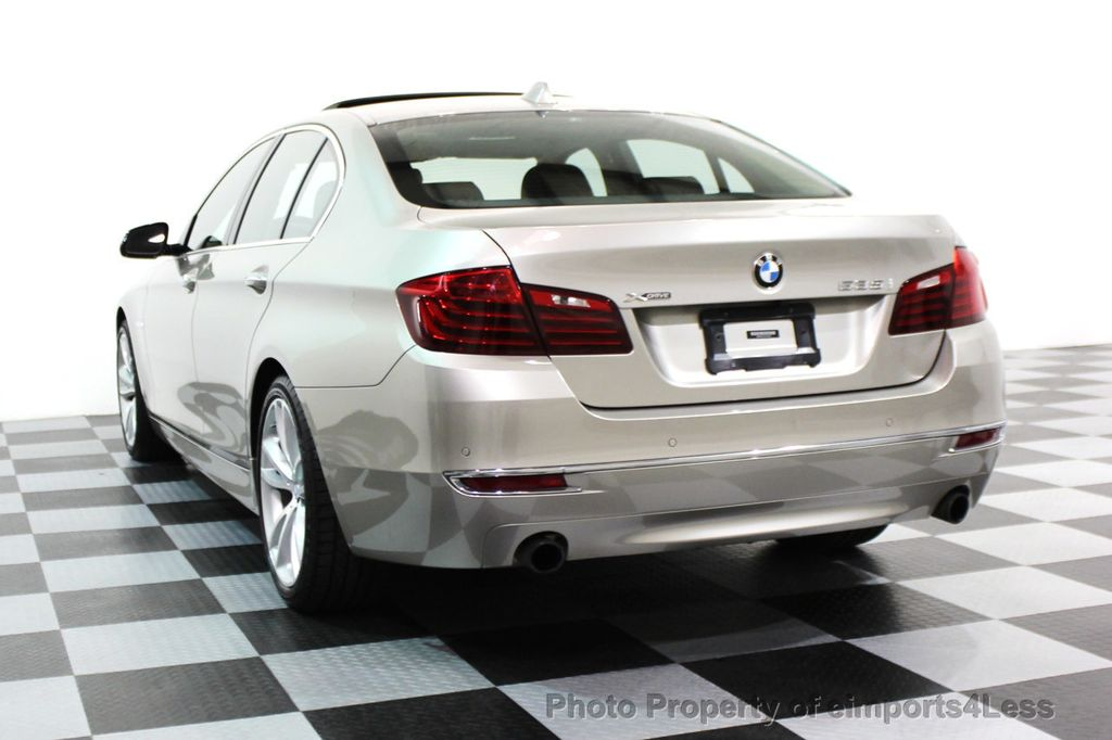 2014 BMW 5 Series CERTIFIED 535i xDRIVE LUXURY LINE AWD SEDAN - 16044046 - 27