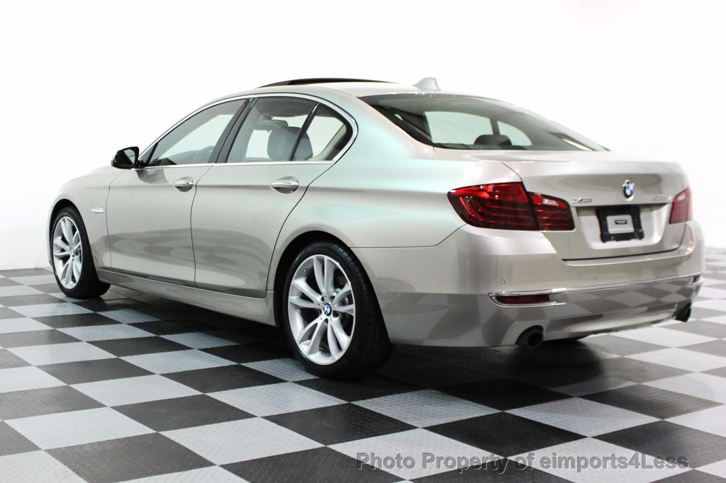 2014 BMW 5 Series CERTIFIED 535i xDRIVE LUXURY LINE AWD SEDAN - 16044046 - 28