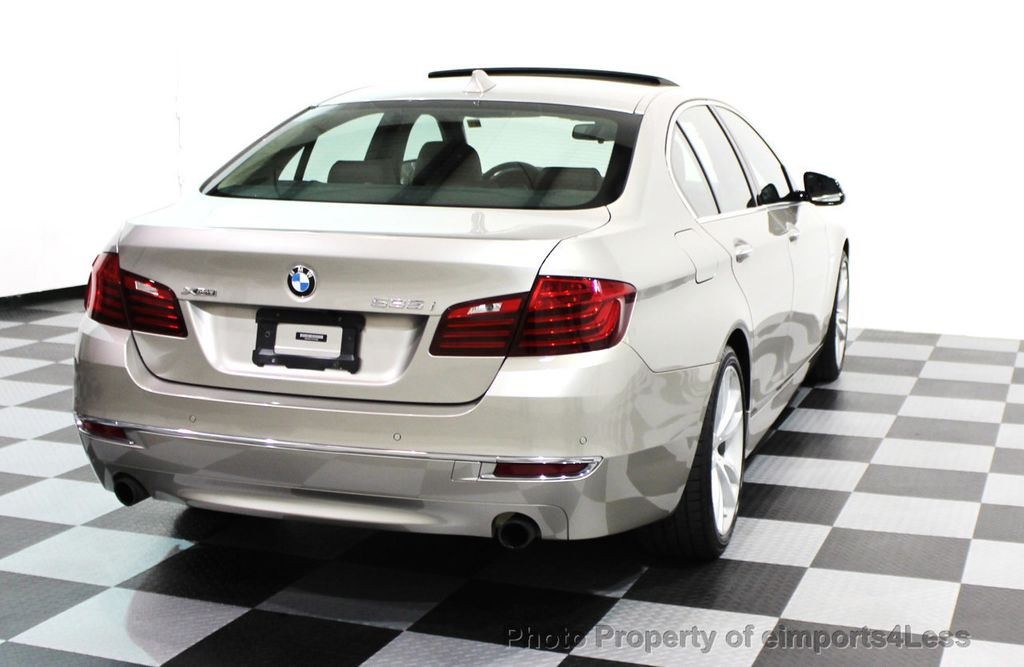 2014 BMW 5 Series CERTIFIED 535i xDRIVE LUXURY LINE AWD SEDAN - 16044046 - 29
