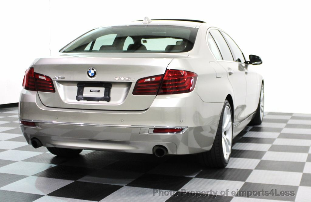 2014 BMW 5 Series CERTIFIED 535i xDRIVE LUXURY LINE AWD SEDAN - 16044046 - 30