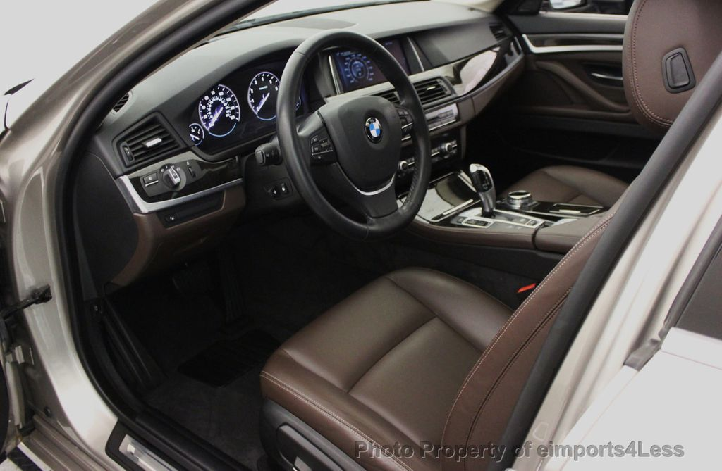 2014 BMW 5 Series CERTIFIED 535i xDRIVE LUXURY LINE AWD SEDAN - 16044046 - 36