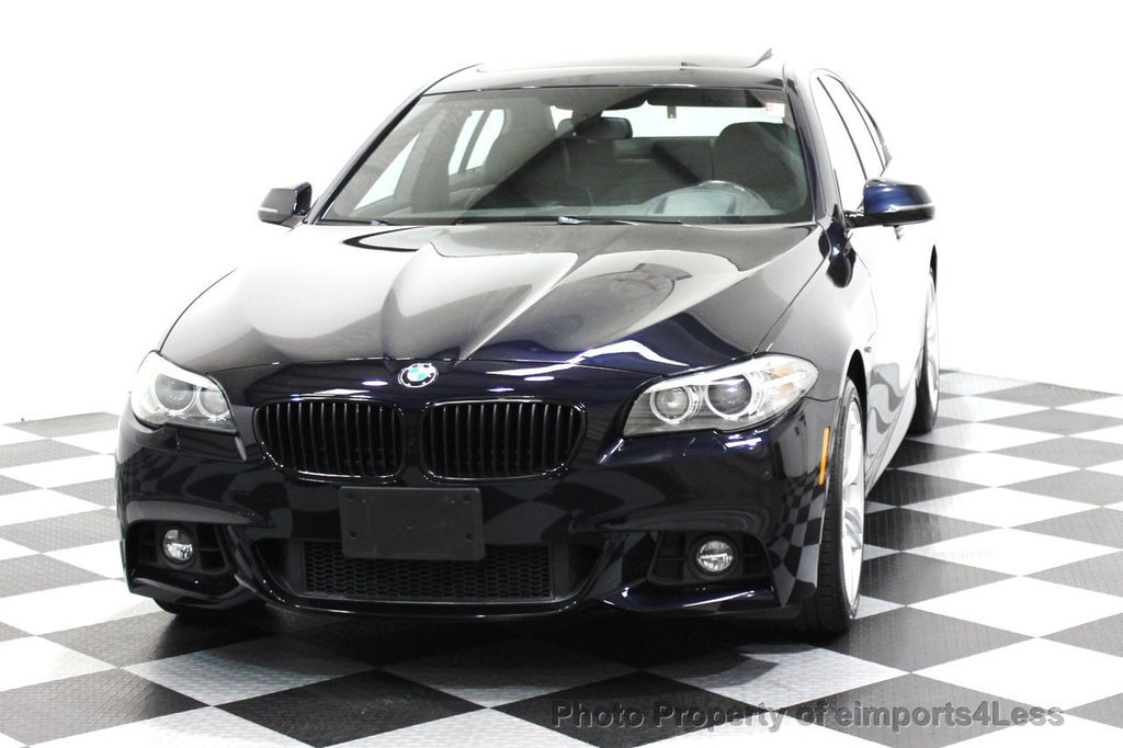 2014 Used BMW 5 Series CERTIFIED 535i xDRIVE M SPORT AWD CAMERA
