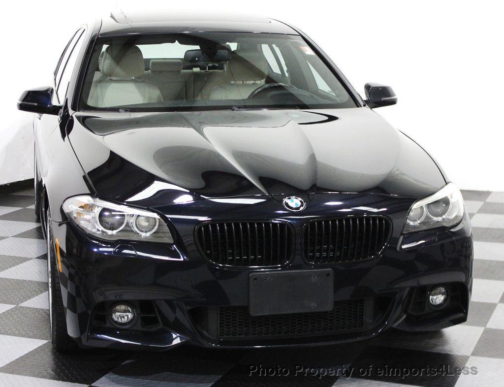 2014 used bmw 5 series certified 535i xdrive m sport awd sedan cam