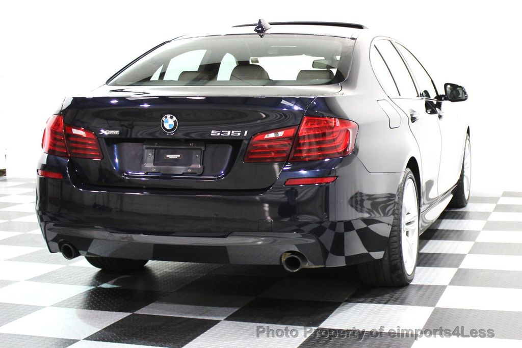 2014 BMW 5 Series CERTIFIED 535i xDRIVE M SPORT DRIVER ASSIST NAVIGATION - 16212296 - 17