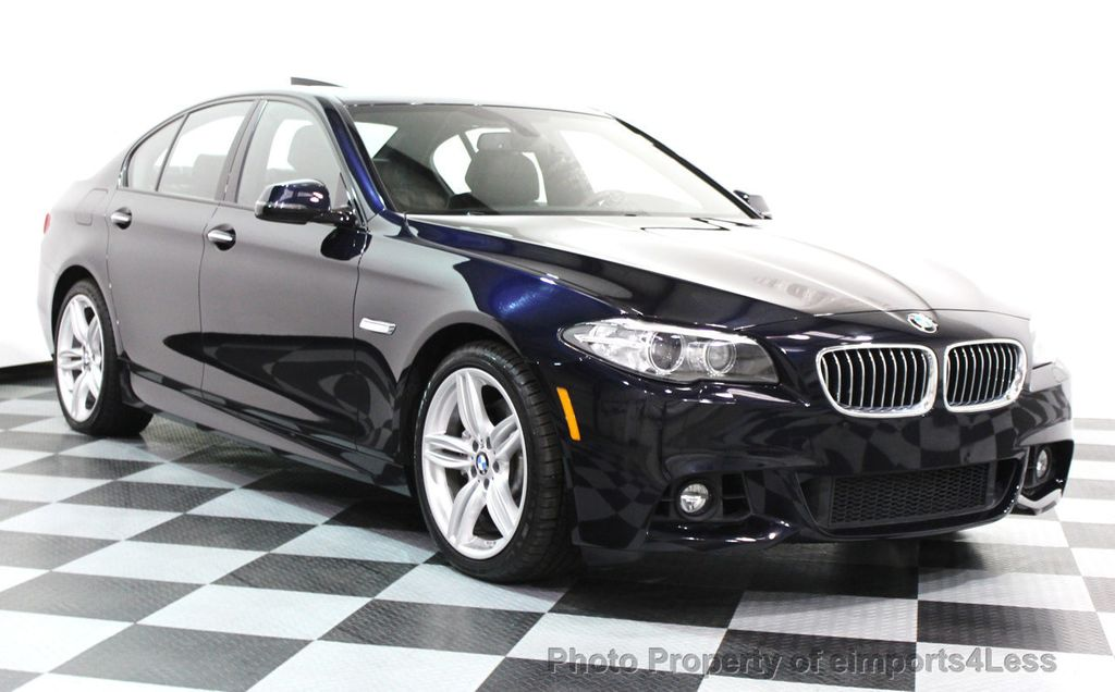 2014 BMW 5 Series CERTIFIED 535i xDRIVE M SPORT DRIVER ASSIST NAVIGATION - 16212296 - 1