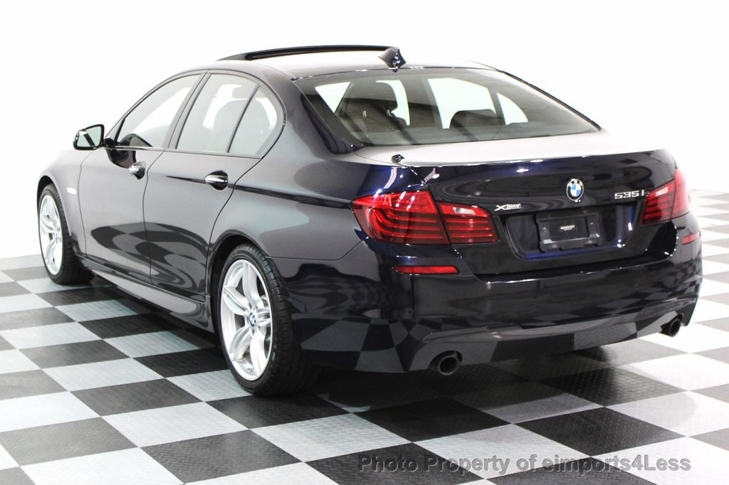 2014 BMW 5 Series CERTIFIED 535i xDRIVE M SPORT DRIVER ASSIST NAVIGATION - 16212296 - 29