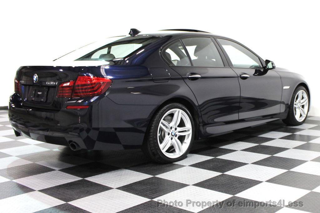 2014 BMW 5 Series CERTIFIED 535i xDRIVE M SPORT DRIVER ASSIST NAVIGATION - 16212296 - 42