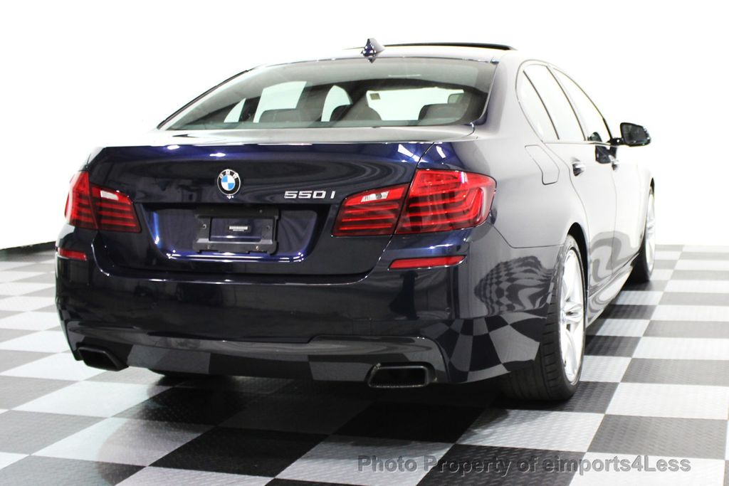 2014 BMW 5 Series CERTIFIED 550i M SPORT PACKAGE CAMERA / NAVI - 16138391 - 20