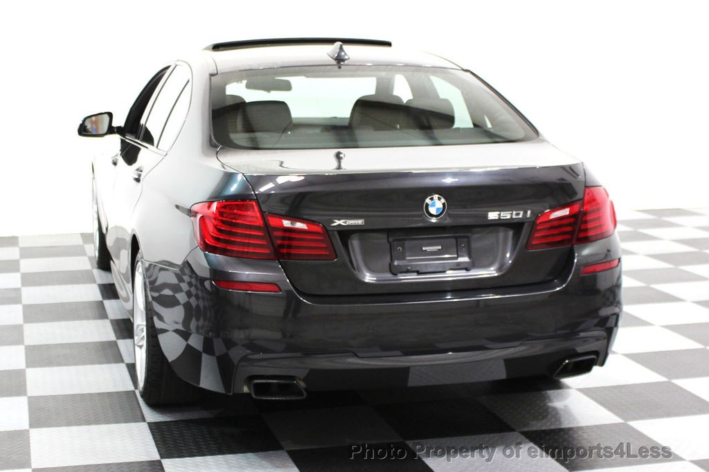 2014 BMW 5 Series CERTIFIED 550i xDRIVE M SPORT EXEC LIGHTING PACKAGE - 16417226 - 16