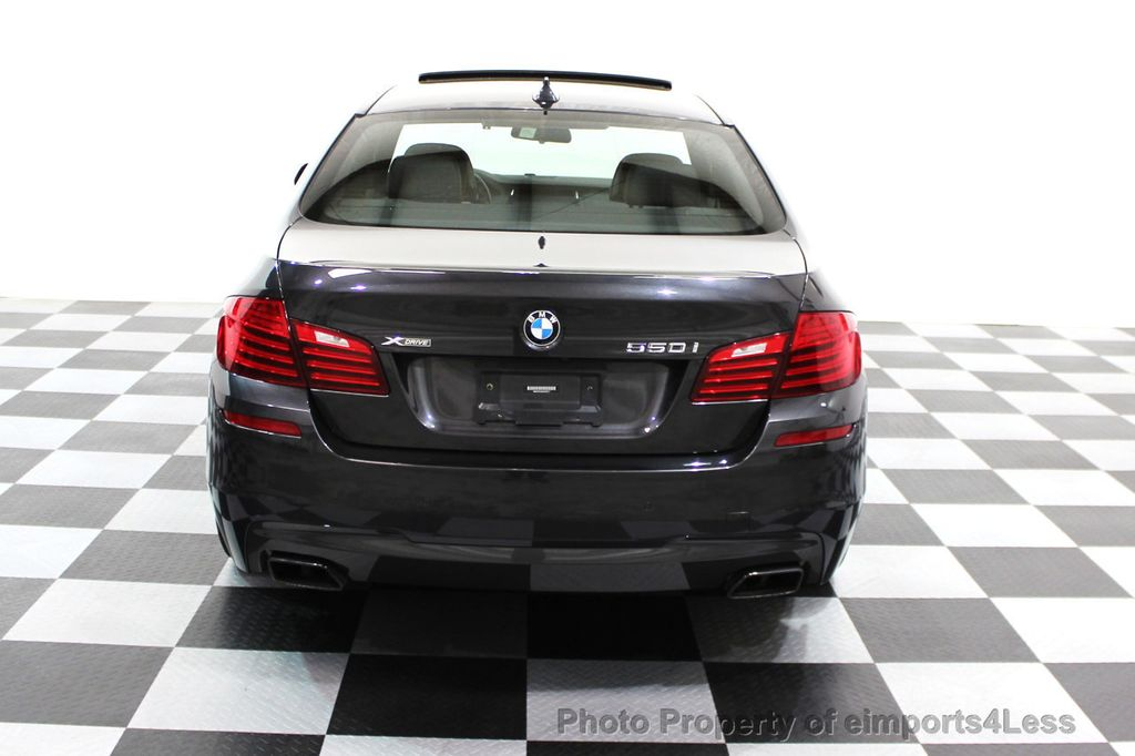 2014 BMW 5 Series CERTIFIED 550i xDRIVE M SPORT EXEC LIGHTING PACKAGE - 16417226 - 17