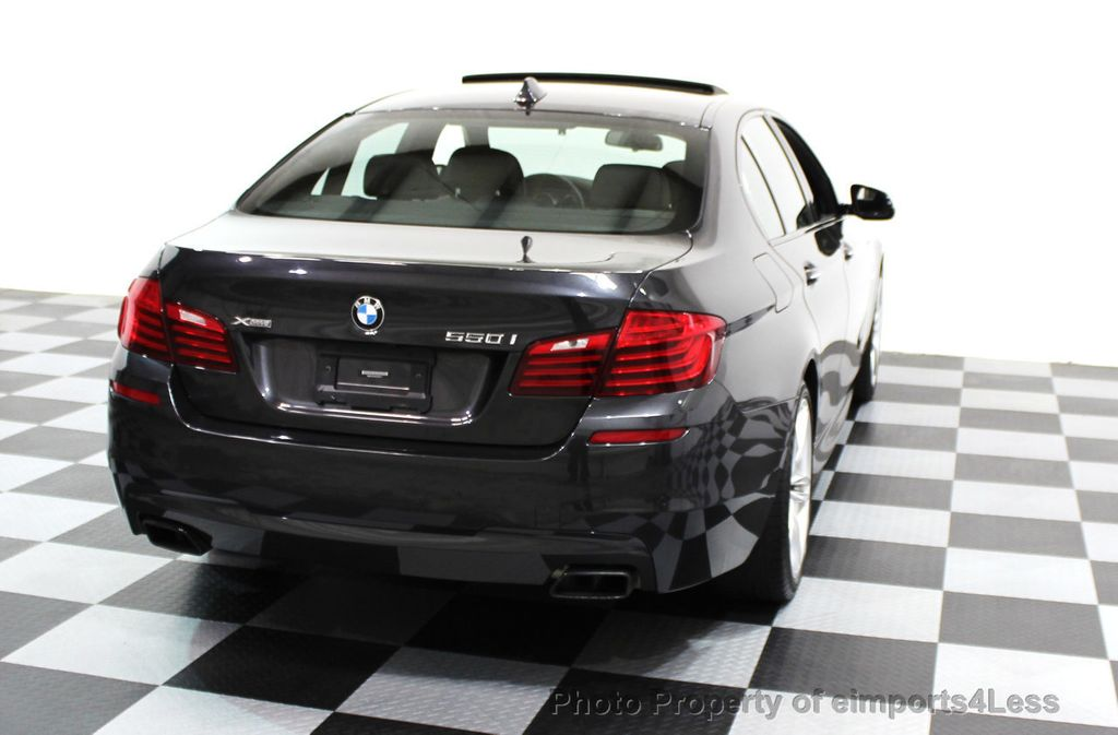 2014 BMW 5 Series CERTIFIED 550i xDRIVE M SPORT EXEC LIGHTING PACKAGE - 16417226 - 18