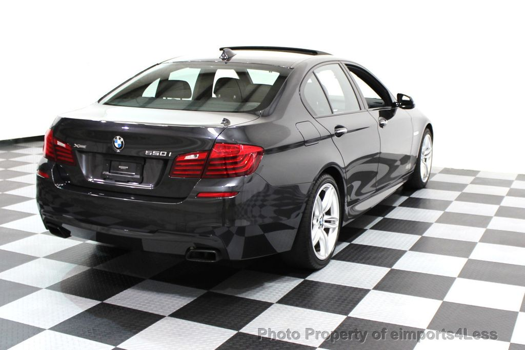 2014 BMW 5 Series CERTIFIED 550i xDRIVE M SPORT EXEC LIGHTING PACKAGE - 16417226 - 19