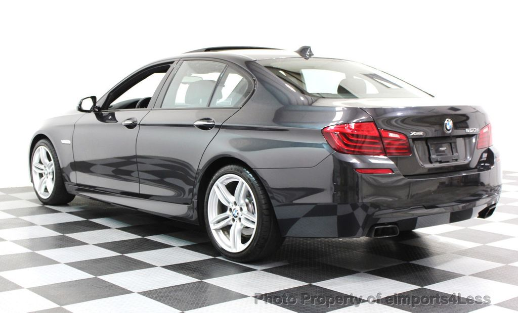 2014 BMW 5 Series CERTIFIED 550i xDRIVE M SPORT EXEC LIGHTING PACKAGE - 16417226 - 24