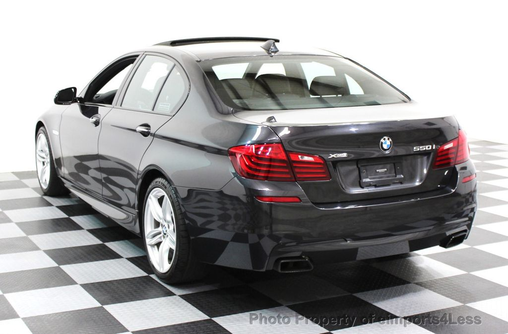 2014 BMW 5 Series CERTIFIED 550i xDRIVE M SPORT EXEC LIGHTING PACKAGE - 16417226 - 25
